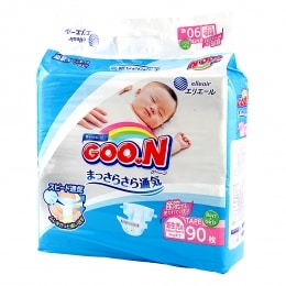 GOO.N BABY DIAPER NEW BORN 90 SHEETS