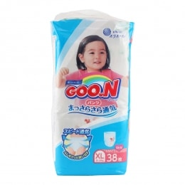 Goo.N Soft Pants Size Xl For Girls 44 Sheets