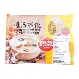 思念猪肉韭菜灌汤水饺
