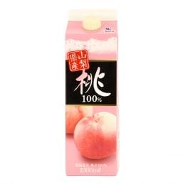 日本山梨县特产桃子汁