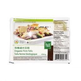T&T Organic Firm Tofu