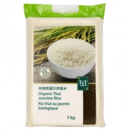 T&T Organic Jasmine Rice