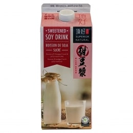 SUPERIOR SWEETENED SOYA