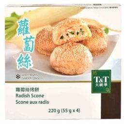 T&T Radish Scone
