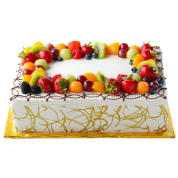 8X12  杂果蛋糕