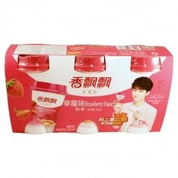 Xiang Piao Piao Strawberry Milk Tea