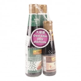 Lee Kum Kee Soy Sauce For Seafood Value Pack