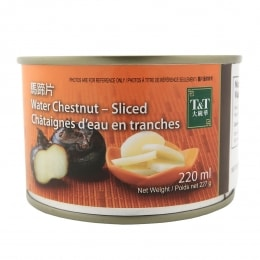 T&T SLICED WATER CHESTNUT