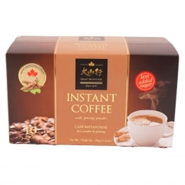 GREAT MOUNTAIN LESS SUGAR GINSENG COFFEE