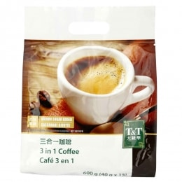 T&T 3In1 Coffee 40gx15packs