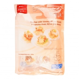 Fz Cooked Scallops W/ Garlic Vermicelli 200G