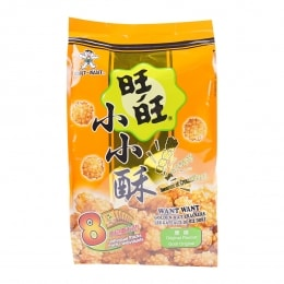 Want Want Original Flavor Golden Rice Crackers