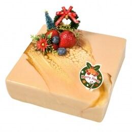 Xmas Pink Salt Black Sugar Cheese Cake