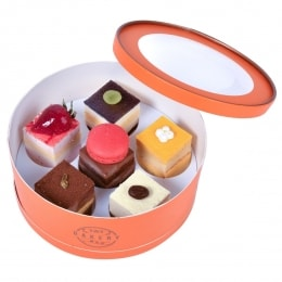 Christmas Mousse Cake Gift Box