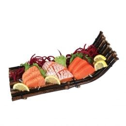 T&T Kitchen Salmon Sashimi Trio