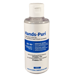Hands-Puri Hand Sanitizer Gel 100Ml
