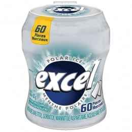 EXCEL POLAR ICE GUM BOTTLE