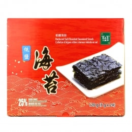 T&T Reduced Salt Roasted Seaweed Snack