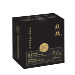 麒麟香菇虾米蛋肉粽