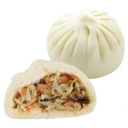 Vegetable Steamed Bun-4Pcs (Cold)
