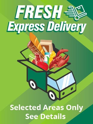 Express Delivery Zones